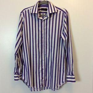 Other - Etro Milano Striped Button Down Shirt 40